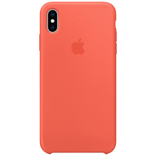 Apple - back cover for iPhone XS Max in Nectarine