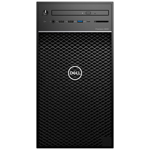 Dell Precision 3630 Tower - MT Desktop PC - Xeon E-2174G 3.8 GHz - 16 GB - 256 GB