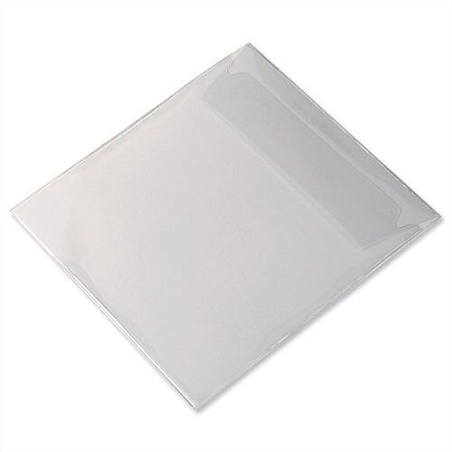 Durable CD/DVD Pocket Protective Polypropylene and Flap 5245/19 Pack 25