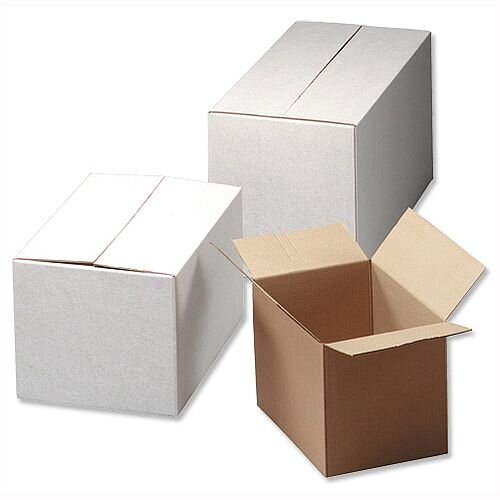 Ambassador Packing Box Internal Size 635x305x330mm Oyster 495232 Pack 10
