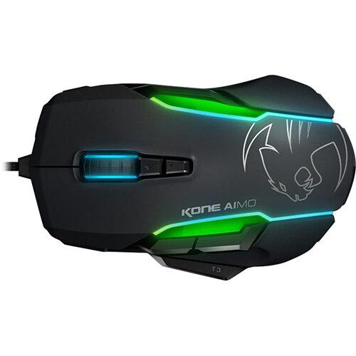 ROCCAT Kone AIMO - Computer Mouse - USB - Black