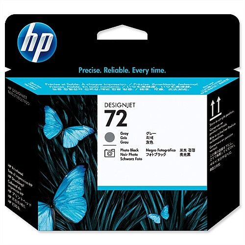HP 72 Grey and Photo Black Printhead C9380A