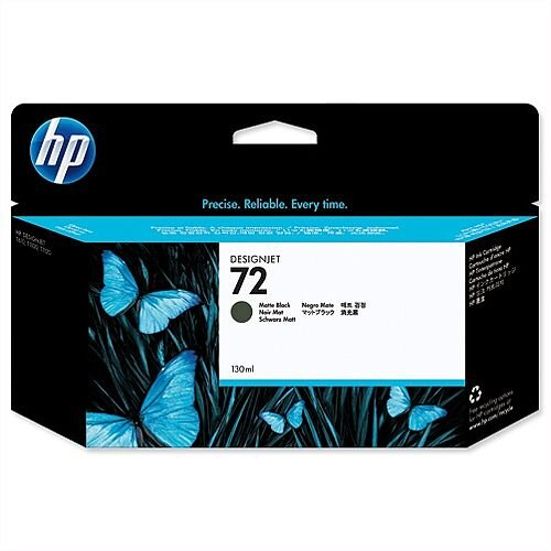 HP 72 Matt Black Inkjet Cartridge 130ml C9403A
