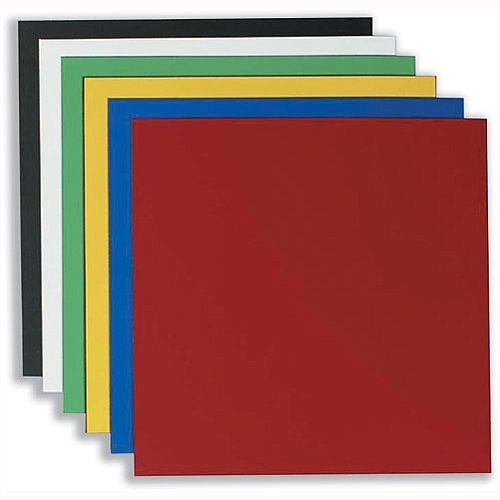 Nobo Magnetic Vinyl Squares 150 x 150mm Assorted Pack 6