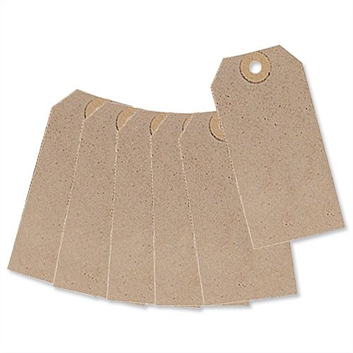 Unstrung Tag Buff 108x54mm Pack 1000