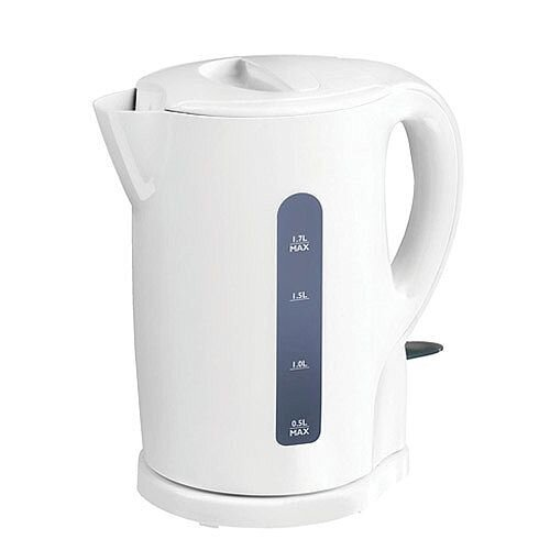 5 Star Kettle Cordless Automatic Shut Off and Water Level Indicator 2200W 1.7 Litre