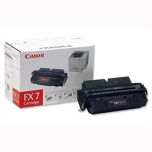Canon FX7 Black Fax Toner Cartridge 7621A002