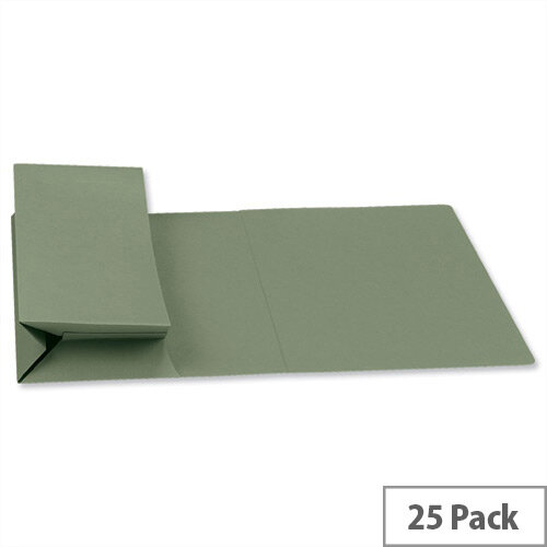 Probate Wallets Manilla Foolscap Green Pack 25 Guildhall