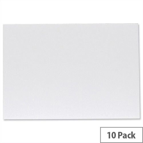 West Design Foamboard Lightweight Durable CFC-free W297 x D5 x H420mm A3 White Pack 10, Easy to Design and Ideal for Artistic Displays and Notices