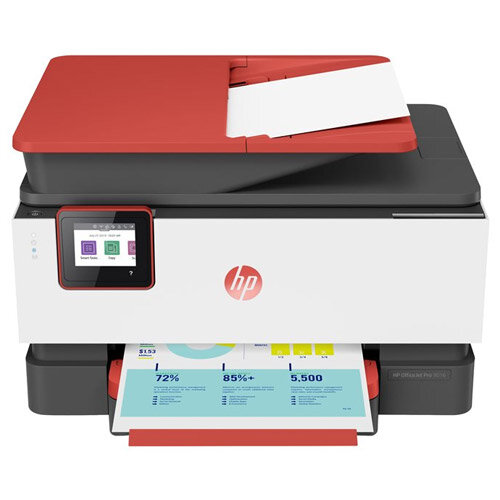 HP Officejet Pro 9016 All-in-One - Multifunction printer - colour - ink-jet - Legal (216 x 356 mm) (original) - A4/Legal (media) - up to 32 ppm (copying) - up to 32 ppm (printing) - 250 sheets - USB 2.0, LAN, Wi-Fi(n), USB host