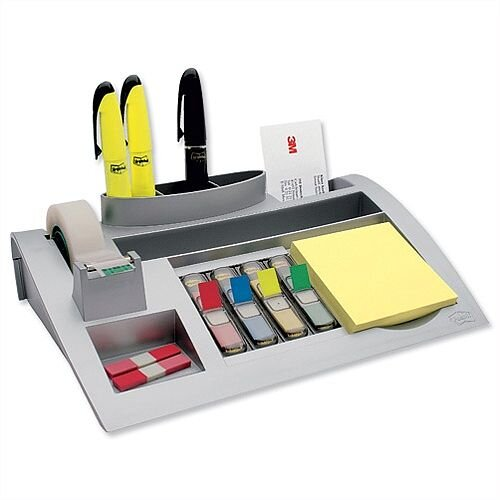 3M Desktop Tidy Large Silver
