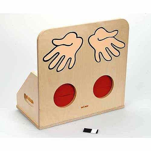 Tactile Box – Early Education, Ideal For Creches/Montessori's, Sensing Game, Suitable for Children &L/W/H 36 x 20 x 35cm (EB522873)