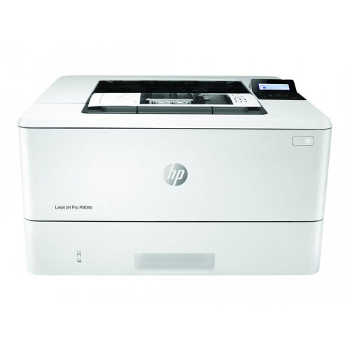 HP LaserJet Pro M404n - Printer - monochrome - laser - A4/Legal - 4800 x 600 dpi - up to 38 ppm - capacity: 350 sheets - USB 2.0, Gigabit LAN, USB host