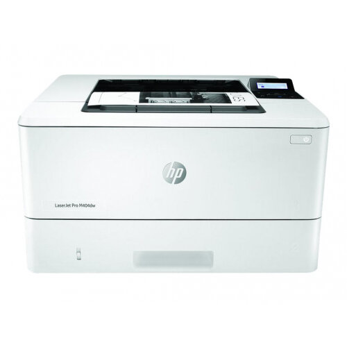 HP LaserJet Pro M404dw - Printer - monochrome - Duplex - laser - A4/Legal - 4800 x 600 dpi - up to 38 ppm - capacity: 350 sheets - USB 2.0, Gigabit LAN, Wi-Fi(n), USB host