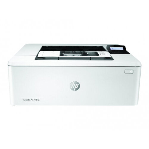 HP LaserJet Pro M404dn - Printer - monochrome - Duplex - laser - A4/Legal - 4800 x 600 dpi - up to 38 ppm - capacity: 350 sheets - USB 2.0, Gigabit LAN, USB host