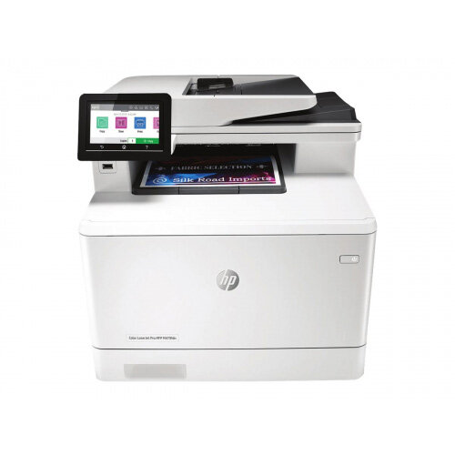 HP Color LaserJet Pro MFP M479fdn - Multifunction printer - colour - laser - Legal (216 x 356 mm) (original) - A4/Legal (media) - up to 27 ppm (copying) - up to 27 ppm (printing) - 300 sheets - 33.6 Kbps - USB 2.0, LAN, USB host