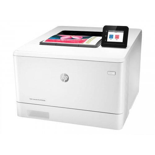 HP Color LaserJet Pro M454dw - Printer - colour - Duplex - laser - A4/Legal - 38400 x 600 dpi - up to 27 ppm (mono) / up to 27 ppm (colour) - capacity: 300 sheets - USB 2.0, Gigabit LAN, Wi-Fi(n), USB host