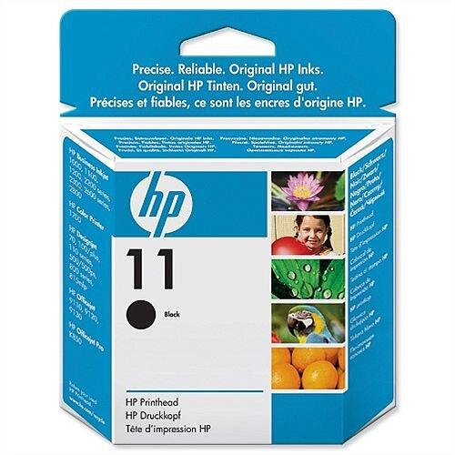 HP 11 Black Printhead C4810A Long Life