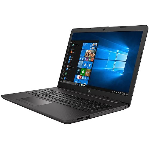 "HP 255 G7 Laptop - CPU Ryzen 3 (2.5 GHz) - Display 15.6"" 1366 x 768 (HD) - Windows 10 Pro 64-bit - 8GB RAM - 256GB SSD NVMe - DVD-Writer - Bluetooth - Colour: Dark Ash Silver"