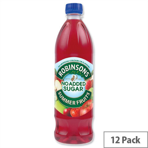 Robinsons Special R Squash No Added Sugar 1 Litre Summer Fruits A02105 Pack 12 Dilute With Water Concentrated Cordial