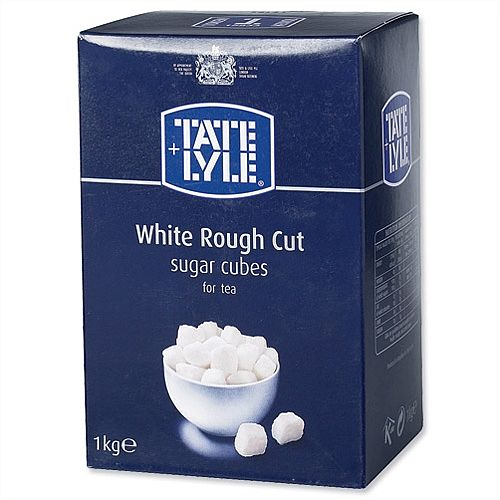 Tate &Lyle Rough Cut White Sugar Cubes 1kg A03902