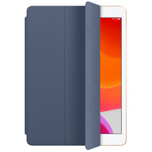 Apple Smart Protective Cover for 10.2 - 10.5 iPads - Stand Function - Polyurethane - MX4V2ZM/A - Blue