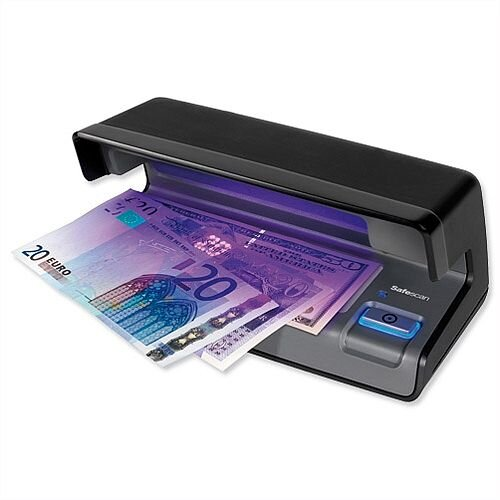 Safescan 70 Black UV Counterfeit Detector with White Light Area
