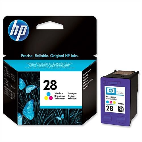 HP 28 Tri Colour Inkjet Cartridge C8728AE