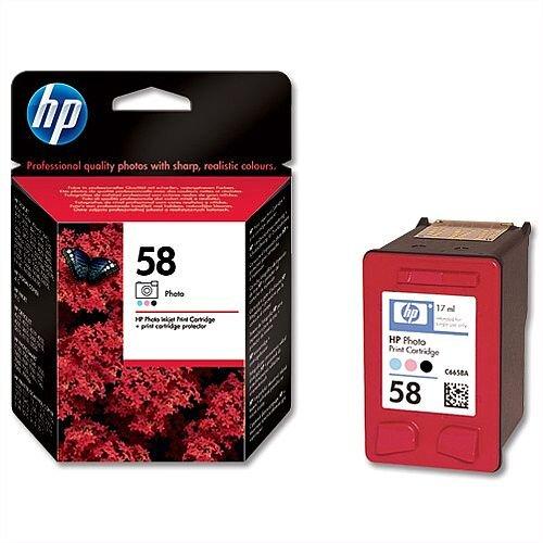 HP 58 Photo Inkjet Cartridge 17ml C6658AE