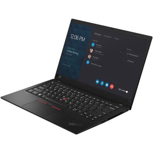 "Lenovo ThinkPad X1 Carbon 20QD00LMUK Ultrabook - Display 14"" (35.6 cm) - Resolution 2560 x 1440 - Intel Core i7-8565U - 16 GB RAM - 1 TB SSD - Windows 10 Pro 64-bit - Black Colour - Bluetooth"