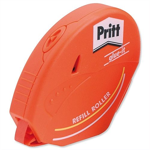 Pritt Glue it Roller Adhesive with Re-stickable Refill Cartridge