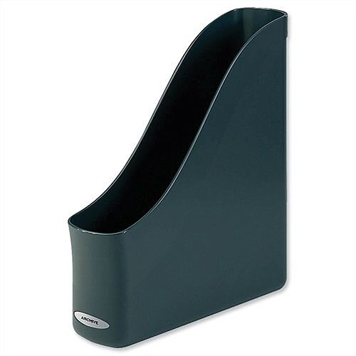Magazine Rack File Charcoal Rexel Agenda2