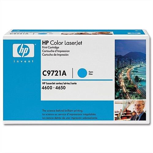 HP 641A Cyan LaserJet Toner Cartridge C9721A