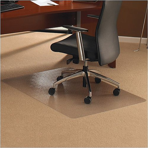 Chair Mat Rectangular for Carpet Protection 1190x890mm Cleartex Ultimat