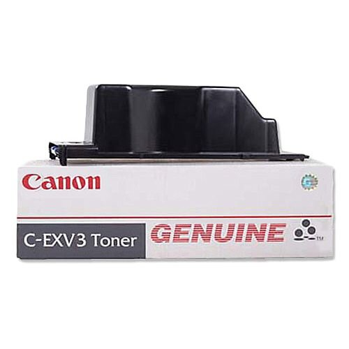 Canon C-EXV3 Black Toner Cartridge 6647A002AA