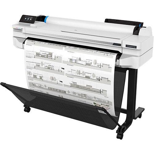 HP Designjet T530 Large Format Thermal Inkjet Printer - 2400 x 1200 dpi - A0,A1,A2,A3,A4 - Black,Cyan,Magenta,Yellow