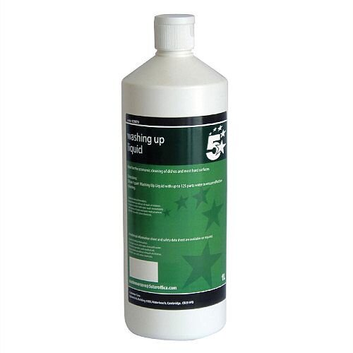 5 Star Facilities Economy Washing Up Liquid 1 Litre