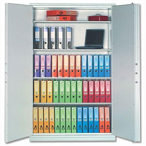 Phoenix Firechief Security Cupboard Fire Resistant 764 Litre Capacity 233kg W1200xD525x1885mm