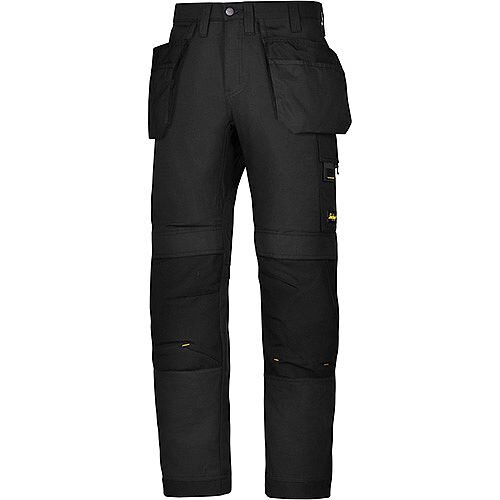 "Snickers 6201 AllroundWork Holster Pockets Trousers Black W36"" L30"" Size 104 WW1"