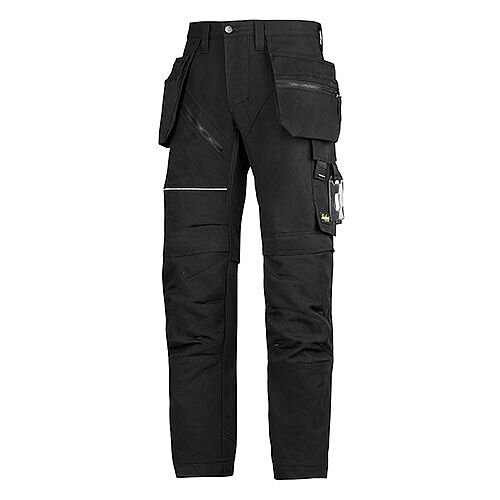 "6202 RuffWork, Work Trousers+ Holster Pockets Black\Black - 0404 Size 104 36""/30"""