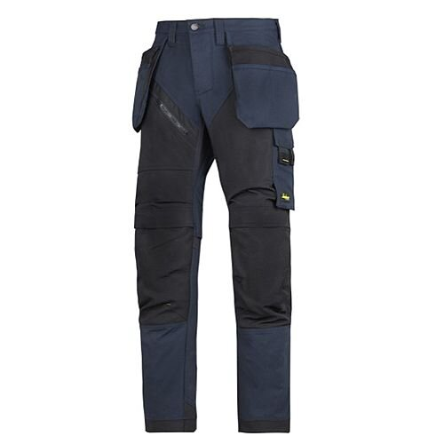 """6203 RuffWork, Work Trousers Holster Pockets Navy\Black - 9504 Size 104 36""""/30"""""""