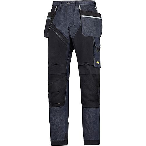 "6205 RuffWork Denim, Work Trousers Holster Pockets Denim\Black - 6504 Size 104 36""/30"""