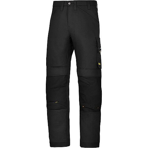 "Snickers 6301 AllroundWork Trousers Black W33"" L30"" Size 96 WW1"