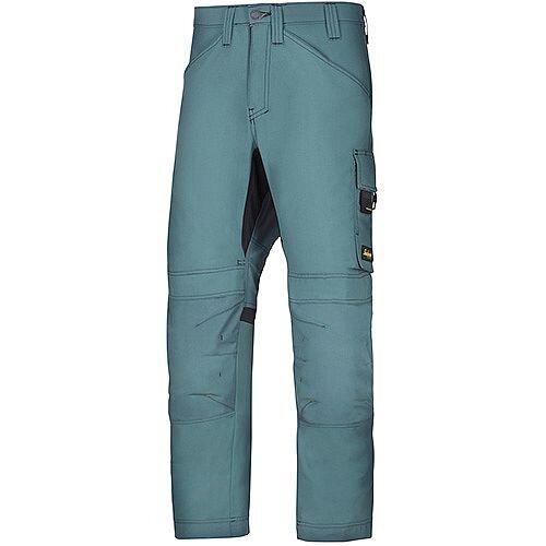 "Snickers 6301 AllroundWork Trousers Petrol W35"" L37"" Size 250 WW1"