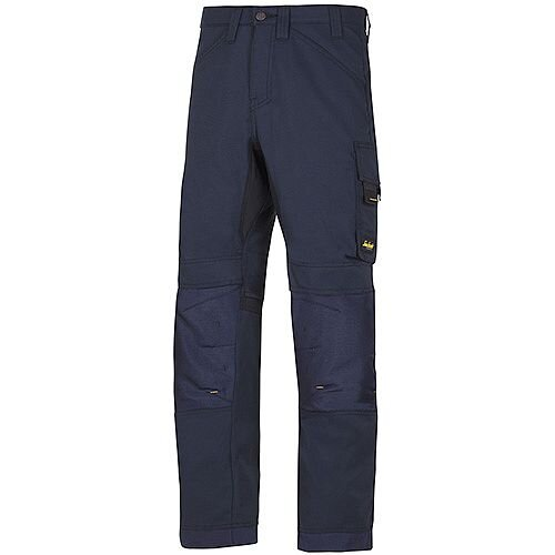"Snickers 6301 AllroundWork Trousers Navy W41"" L30"" Size 116 WW1"