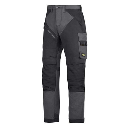 "6303 RuffWork, Work Trousers Steel grey\Black - 5804 Size 120 44""/30"""