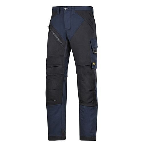 "6303 RuffWork, Work Trousers Navy\Black - 9504 Size 120 44""/30"""