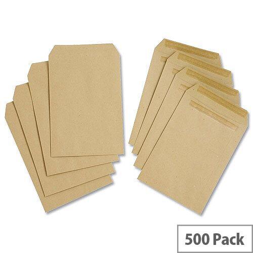 White Box C5 Envelopes 80gsm Manilla Pocket Self Seal Pack 500