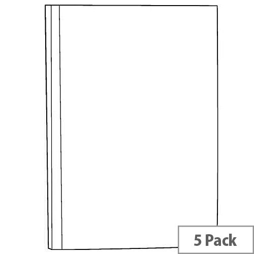 White Box Manuscript Book A5 [Pack 5]