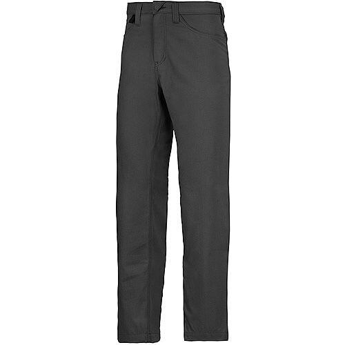 "Snickers 6400 Service Trousers Chinos Black Waist 36"" Inside leg 30"" Size 104 WW1"
